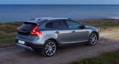 The Volvo V40 Cross Country, featuring a unique blend of ruggedness and expressive elegance, is available with a full range of Volvo Cars' four-cylinder Drive-E powertrains, offering a world-class ble...