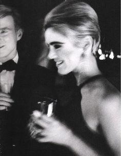 Andy Warhol and Edie Sedgwick, 1966.