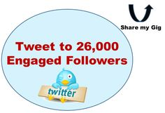 topintmarkcoach: tweet your message to my daily engaged 26,000 Twitter followers with proof for $5, on fiverr.com