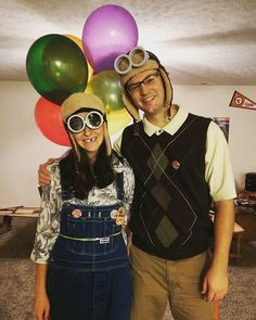 35+ Pixar Costumes to Make Your Halloween Bright and Terrific  sc 1 st  Pinterest & ThatCraftyMommyBlog: DIY Costume: Carl u0026 Ellie from UP! | Halloween ...