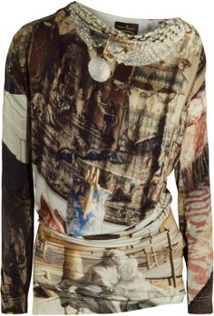 Vivienne Westwood New Drape printed stretch-jersey top on shopstyle.co.uk