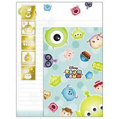 Disney Tsum Tsum Letter Set Green (◕ᴥ◕) Kawaii Panda - Making Life Cuter