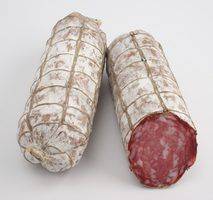 Dry-cured salami is easily made at home.