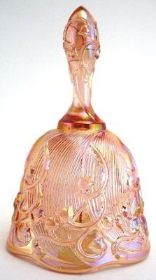 Fenton Pink Lily of the Valley Bell