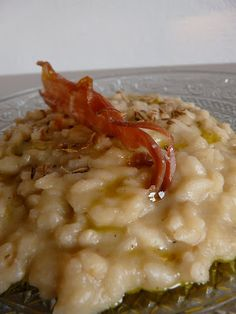 Risotto aux topinambours et graines de fenouil Rice Recipes, Vegetable Recipes, Healthy Recipes, Easy Recipes, Bacon Fries, Risotto Rice, Artichoke Chicken, Fennel Seeds, Italian Recipes