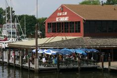 Crab Claw, St. Michael's, Md - Great place to go for the afternoon and eat crabs and drink beer outside