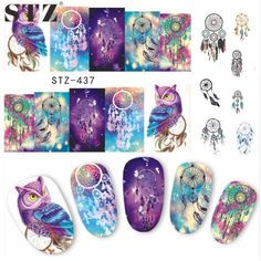 FREE SHIPPING ALLOW 2-4 DAYS FOR SHIPPING PROCESS      Item Type:Sticker & Decal  Quantity:1pcs  Material:Plastic  Size:6.4*5.3cm  Style:Owl Designs  Model Number:STZ437-438  Item Condition:100%Brand new  Quantity:1 Sheets  Items:Nail Art Sticker  Designs :Animal Designs Watermark   | Shop this product here: http://spreesy.com/NailZen/3 | Shop all of our products at http://spreesy.com/NailZen    | Pinterest selling powered by Spreesy.com