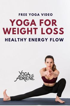 Yoga For Weight Loss, Healthy Energy Flow guides you to the mat to cultivate the healthy flow of energy you need to explore your body and create a sustainabl. Yin Yoga, Yoga Meditation, Yoga Flow, Yoga Poses For Beginners, Workout For Beginners, Yoga Fitness, Fitness Games, Fitness Bike, Fitness Music