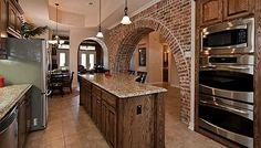 Open living concept home in Dallas via homes.com