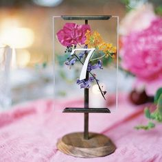 If we incorporate pressed flowers in other decor, we don't necessarily need to do this. But I do think it is cute :)