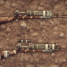 Laser musket mod for New Vegas  via enclave_hellfire on Instagram  fallout fallout new vegas fnv laser musket facts