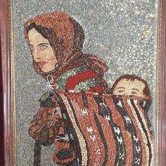 Нет описания фото. Pebble Mosaic, Pebble Art, Mosaic Art, Stone Art, Arts And Crafts, Gallery, Illustration, Instagram, Design