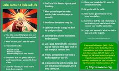 Dalai Lama - 18 Rules of Life