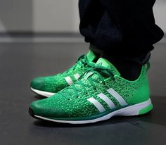 separation shoes a34f2 f6513 adidas Primeknit 20–Green Zes-Running White-Vivid Green Beautiful Shoes,  Runners