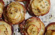 Mini Herbed Pommes Anna - Bon Appétit