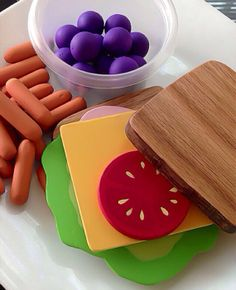 Wooden Play Food : Healthy Lunch Bunch on Etsy, $42.00
