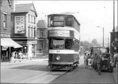 The number5 tram up Beeston Hill from City Square Leeds.