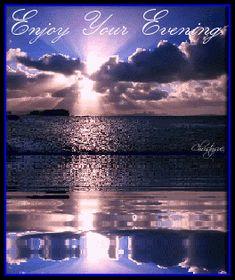 enjoy your evening