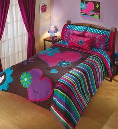 Tropical Bedroom Decor, Tropical Bedrooms, Teen Bedroom, Dream Bedroom, Hello Kitty Bed, Girl Bedroom Designs, Bed Covers, Bed Spreads, Bed Sheets