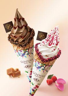 ゴディバの新作ソフトクリーム登場 - ほんのり塩味×チョコレートキャラメルの贅沢なハーモニーの写真1