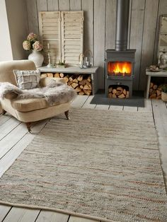 Cotton & Leather Rug - Stone/Copper http://www.nordichouse.co.uk/cotton-leather-rug-stone-copper-p-1454.html