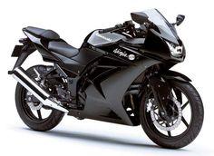 ... six motorcycle for women, The Kawasaki Ninja is for you biker girl...