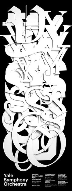 Jessica Svendsen  | graphic design / type poster