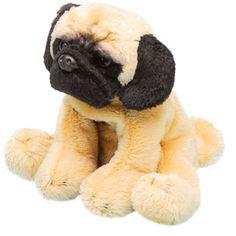 Luv Dogs - Yomiko sitting Pug dog 12.7cm soft toy, £4.99 www.mysleepydust.com