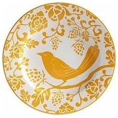Yellow Bird Plate. $5.00 from Pier 1 imports