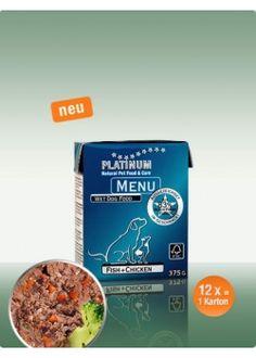 12 x PLATINUM Menu Fish+Chicken  375g