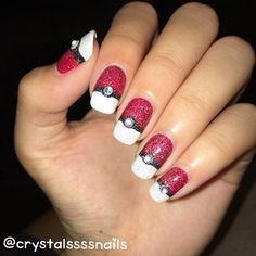 nails art pokemon go #manucure #nailart #ongles #PokemonGo #Pokemon #tendance #monvanityideal
