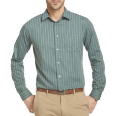 0b1291f01fa Van Heusen® Long-Sleeve No-Iron Woven Shirt found at  JCPenney
