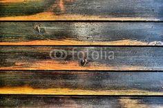 Retro Holzzaun, Holzlatten, Hintergrund, altes Holz, Altholz, vintage, wood, background - Fotolia
