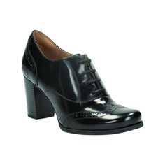 0151023d0faa Clarks Womens Casual Clarks Ciera Brine Leather Shoes In Black