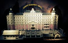 Grand Budapest Hotel MADE OF LEGOS  Wes Anderson Fan Art Inspiration Collection — Cher Amis