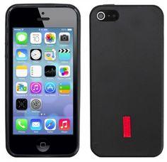ArktisPRO TPU Silikon iPhone 5 5s Hülle Matt Schwarz