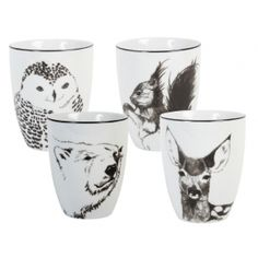 &K Anouk Winter Mugs