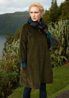 Till hösten! | Manchesterklänning i bomull – Azorerna – GUDRUN SJÖDÉN