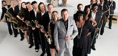 Jools Holland performing at Edinburgh Jazz & Blues Festival.