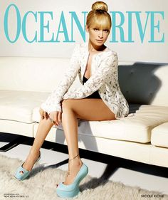 Nicole Richie cover of Ocean Drive...this is just a hot pic, the shoes are amazing
