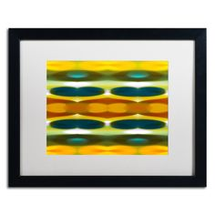 'Fall Forest Wide 3' by Amy Vangsgard Framed Graphic Art