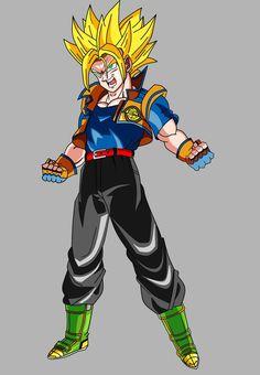 Teen Goken (Super Saiyan) V1 by OWC478.deviantart.com on @deviantART