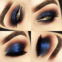 Tutorial – maquiagem azul poderosa