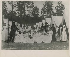 Spanish-American War nurses. These are the people who inspire me! Can't wait to be a nurse!