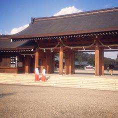 """橿原神宮 Kashihara Shrine  #shrine #nara #japan #신사  #일본 #나라 #여행 #神社 #日本 #奈良 #旅行"" Photo taken by @ishideo on Instagram, pinned via the InstaPin iOS App! http://www.instapinapp.com (06/06/2015)"