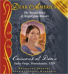 Dear America: Cannons at Dawn - Audio  https://www.amazon.com/dp/0545315263?m=null.string&ref_=v_sp_detail_page