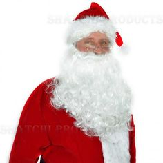 Enjoy a little luxury at any festive fancy dress with this premium style Santa suit. This costume is of particularly high quality, with faux fur trim and royal red colour. Santa himself would be happy to wear such a brilliant set! Christmas Fancy Dress, Santa Costume, Santa Suits, Royal Red, Christmas Costumes, Father Christmas, White Gloves, Line Jackets, Costume Accessories