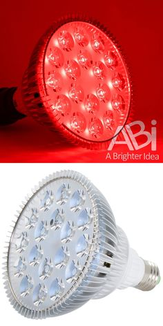 ABI Deep Red LED Light Bulb Bloom Booster for Flowering, Fruting, and for sale online Grow Light Bulbs, Grow Lights, Bloom, Deep, Flowers, Ebay, Royal Icing Flowers, Flower, Florals