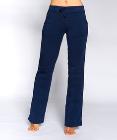 Another great find on #zulily! Navy Pocket Sweatpants - Women by Quest #zulilyfinds