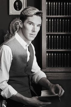 Benedict Cumberbatch. Nothing like a guy in a suit who reads and has a great sense of humor. He is perfection. <---agreed